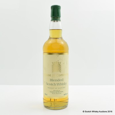 House of Commons Blend Gordon & Macphail