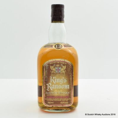 King's Ransom 12 Year Old 75cl