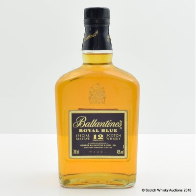 Ballantine's 12 Year Old Royal Blue
