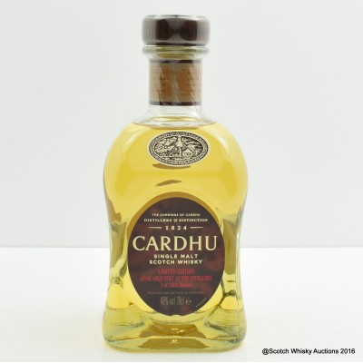 Cardhu Distillery Exclusive Limited Edition