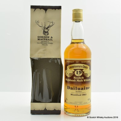 Dailuaine 1963 19 Year Old Connoisseurs Choice 75cl