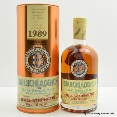 Bruichladdich 1989 16 Year Old Full Strength