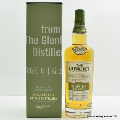 Glenlivet 18 Year Old Distillery Release Only Hand Filled