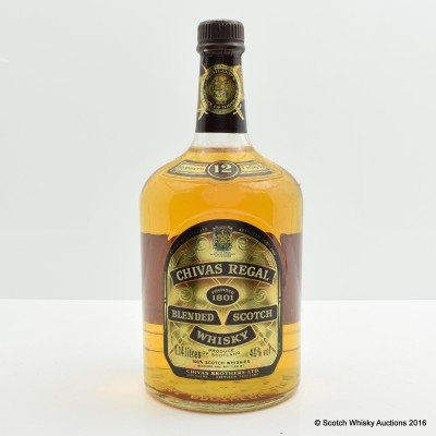 Chivas Regal 12 Year Old 1.14L
