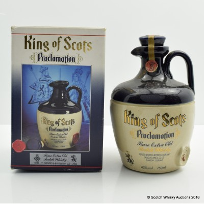 King of Scots Proclamation Decanter 75cl