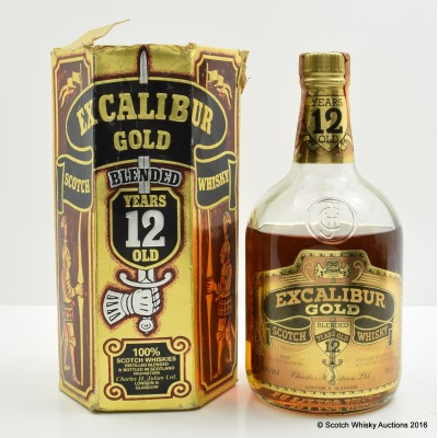 Excalibur Gold 12 Year Old 75cl