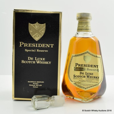 President Special Reserve 75cl
