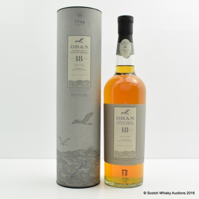 Oban 18 Year Old 75cl