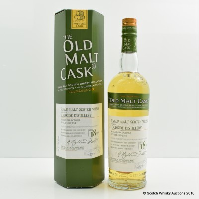 Lochside 1991 18 Year Old Old Malt Cask