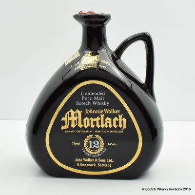 Johnnie Walker Mortlach 12 Year Old Black Decanter 75cl