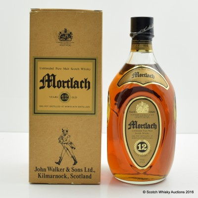 Mortlach 12 Year Old Johnnie Walker 75cl