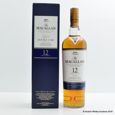 Macallan 12 Year Old Double Cask 75cl