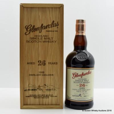 Glenfarclas 1989 26 Year Old Distillery Exclusive