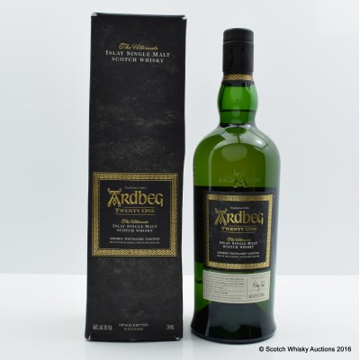 Ardbeg 21 Year Old 2016 Committee Release 75cl