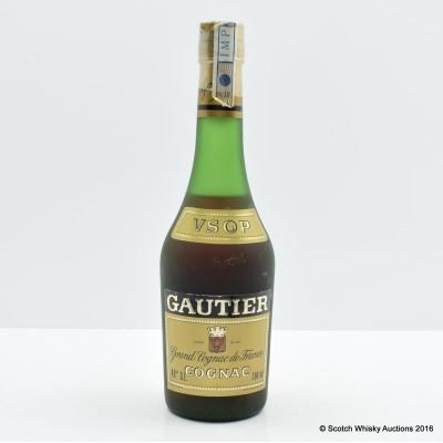 Gautier V.S.O.P. Cognac 35cl