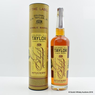 Colonel E.H Taylor Single Barrel Kentucky Bourbon 75cl
