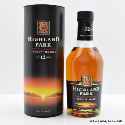 Highland Park 12 Year Old Dumpy Bottle