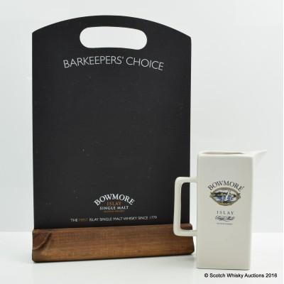 Bowmore Water Jug & Chalkboard