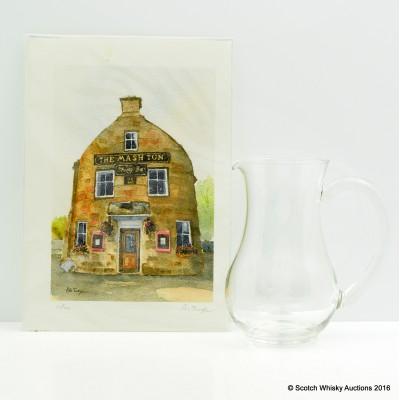 Aberlour Glass Water Jug & Mash Tun Print