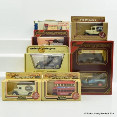 Assorted Miniature Days Gone By Vans x 7