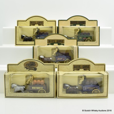 Assorted Miniature Days Gone By Carts x 5