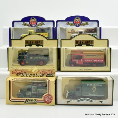 Assorted Miniature Days Gone By Trucks x 6