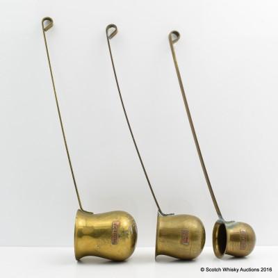 Brass Warming Jugs x 3