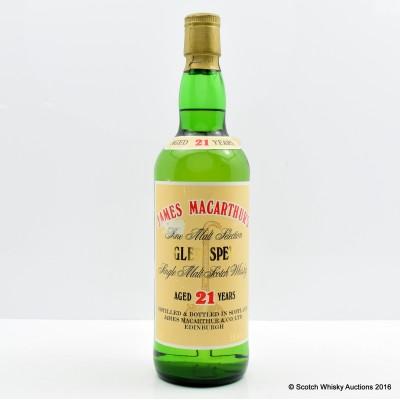 Glen Spey 21 James Macarthur's 75cl