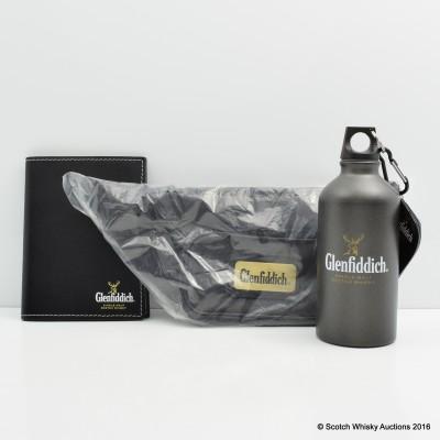 Glenfiddich Water Bottle, Notepad & Bum-Bag