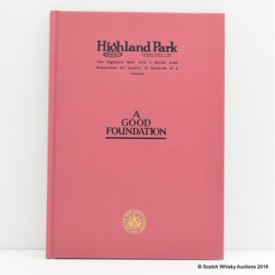 Highland Park - A Good Foundation Book