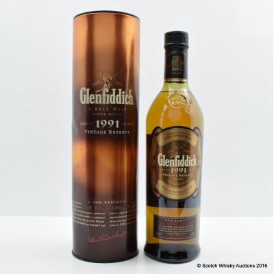 Glenfiddich 1991 Don Ramsay The Head Cooper