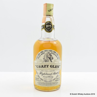 Crazy Glen 1975 5 Year Old 75cl