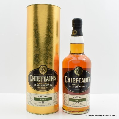 Caol Ila 1992 12 Year Old Chieftain's