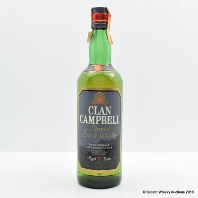 Clan Campbell 5 Year Old 75cl