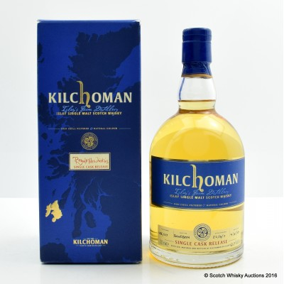 Kilchoman 2007 Single Cask Release for Royal Mile Whiskies