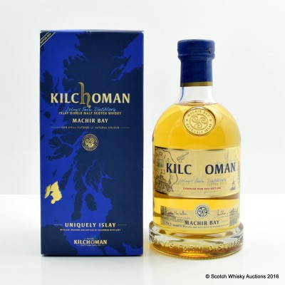 Kilchoman Machir Bay European Tour 2014 Release