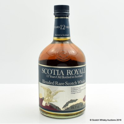 Scotia Royale 12 Year Old 26 2/3 Fl Oz