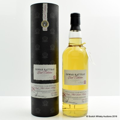 Glenglassaugh 1976 28 Year Old Dewar Rattray