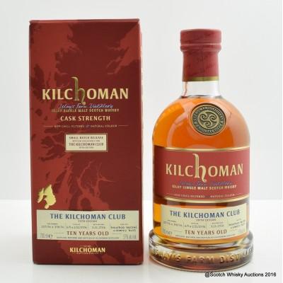Kilchoman 2006 10 Year Old Kilchoman Club Exclusive Fifth Edition
