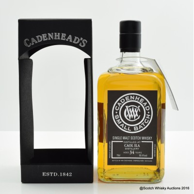 Caol Ila 1982 34 Year old Cadenhead's for Bresser & Timmer
