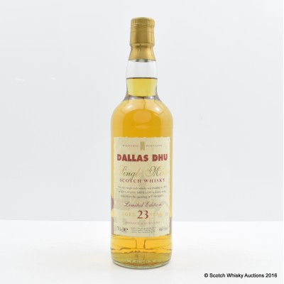 Dallas Dhu 23 Year Old Historic Scotland