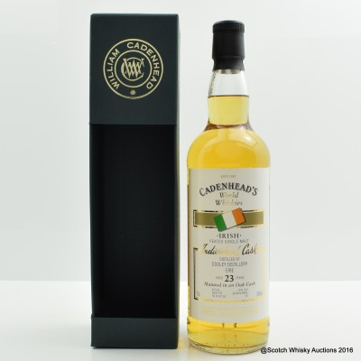 Cooley Peated 23 Year Old Cadenhead's