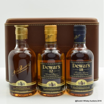 Dewar's Traveler's Pack 3 X 20cl