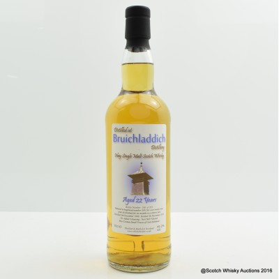 Bruichladdich 1990 22 Year Old Whisky Broker