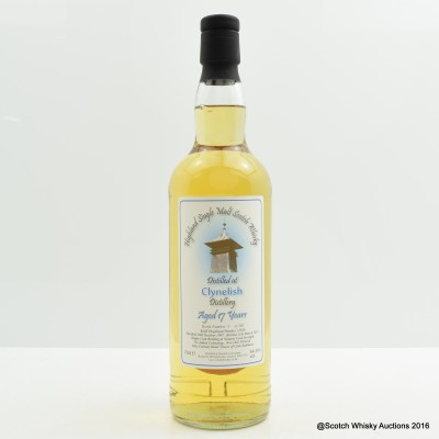 Clynelish 1997 17 Year Old Whisky Broker