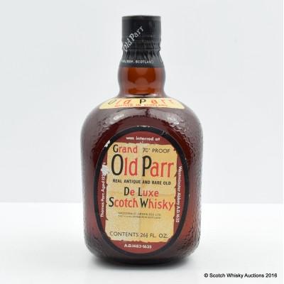 Grand Old Parr 26 2/3 FL OZ
