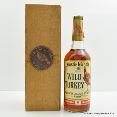 Wild Turkey 8 Year Old 101° Proof 1970s Bottling 75cl