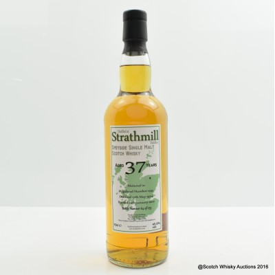 Strathmill 1974 37 Year Old Whisky Broker
