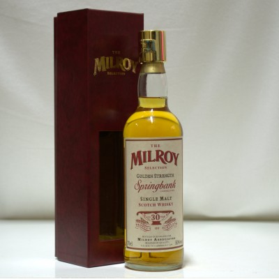 Springbank 30 Year Old Milroy With Locking Top & Key
