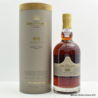 Graham's 40 Year Old Tawny Port 75cl